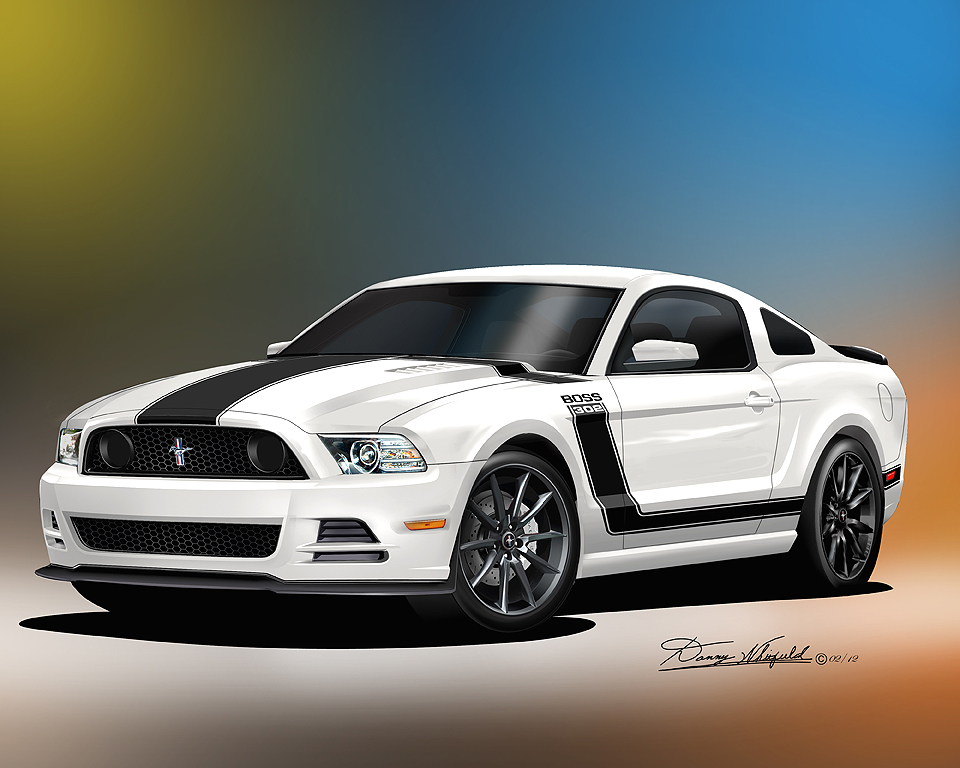 2013 2014 Ford Mustang Fine Art Prints Amp Posters By Danny