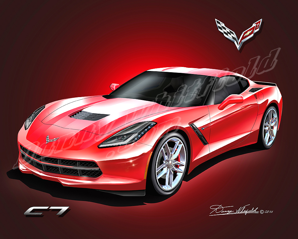 Car Art Automotive Art Of Danny L Whitfield Official Site