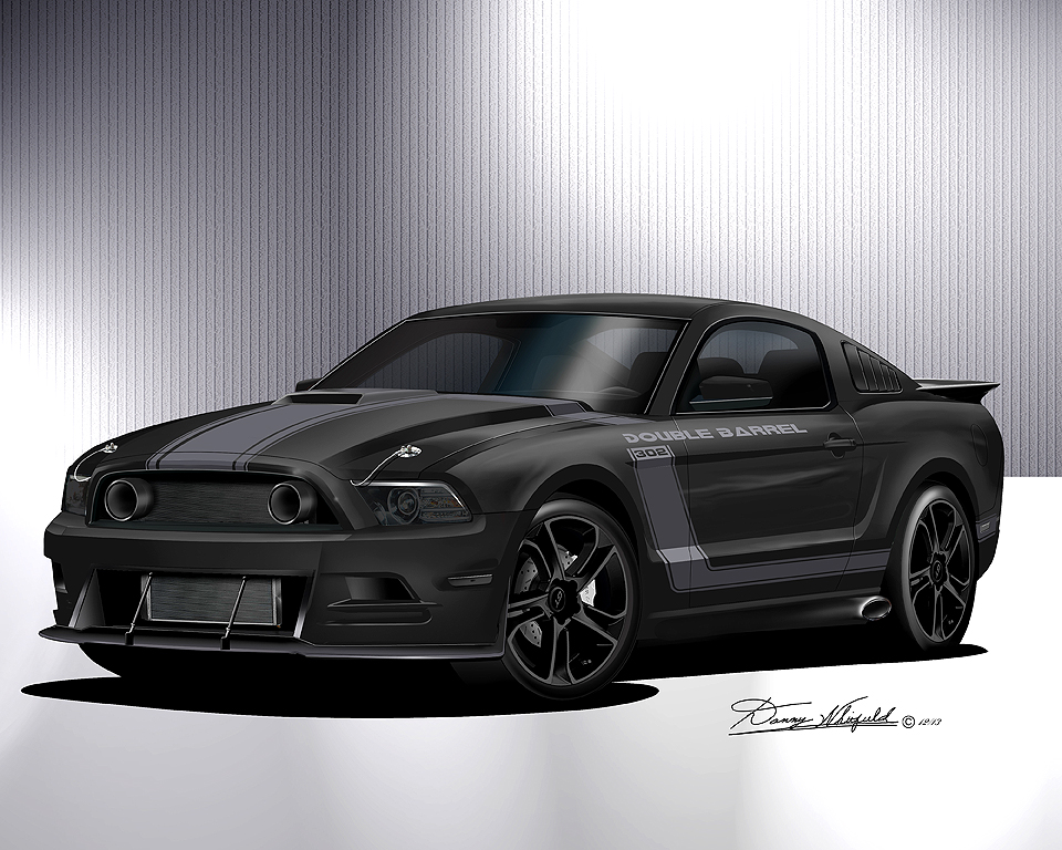 2013 2014 ford mustang fine art prints posters by danny whitfield