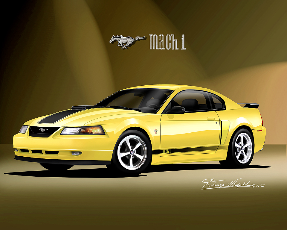 1986 2004 Ford Mustang Fine Art Prints Amp Posters By Danny