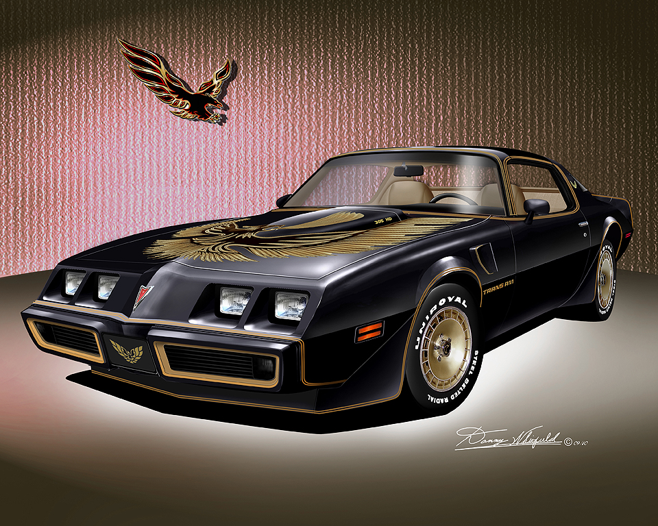 1972 1981 firebird trans am fine art prints by artist. Black Bedroom Furniture Sets. Home Design Ideas