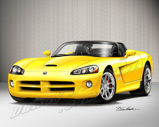 Dodge Viper Yellow Photo from: