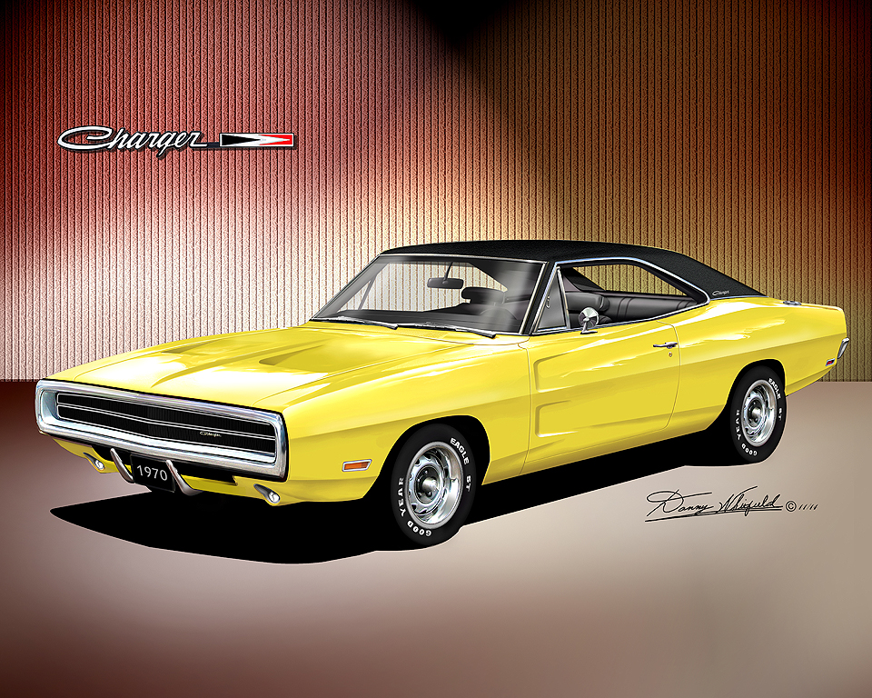 1970 1974 dodge charger fine art prints by danny whitfield sciox Image collections
