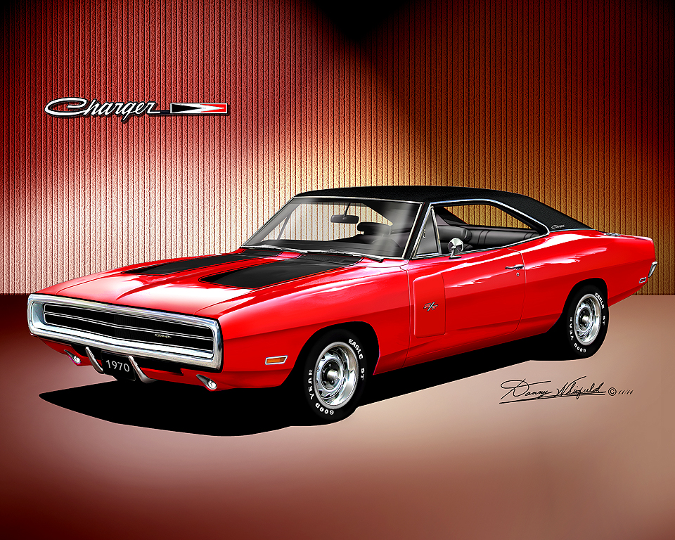 1970 1974 Dodge Charger Fine Art Prints By Danny Whitfield