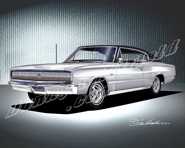 1967 Dodge Charger Silver
