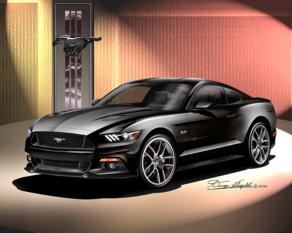 ford mustang 2015 2016 fine art prints posters by. Black Bedroom Furniture Sets. Home Design Ideas