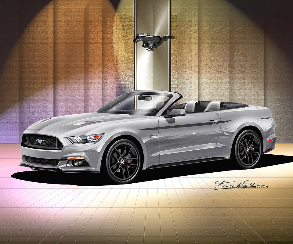 Black Mustang Silvers: 2016 Fine Art Prints & Posters By