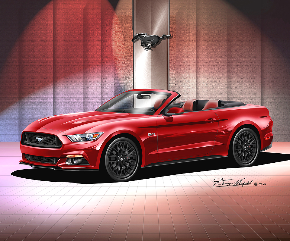 ford mustang 2015 2016 fine art prints posters by danny whitfield. Black Bedroom Furniture Sets. Home Design Ideas