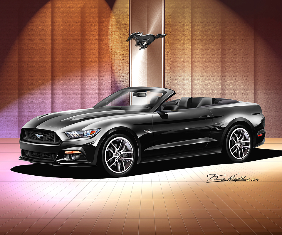 Ford Mustang 2015 2016 Fine Art Prints Posters By Danny Whitfield