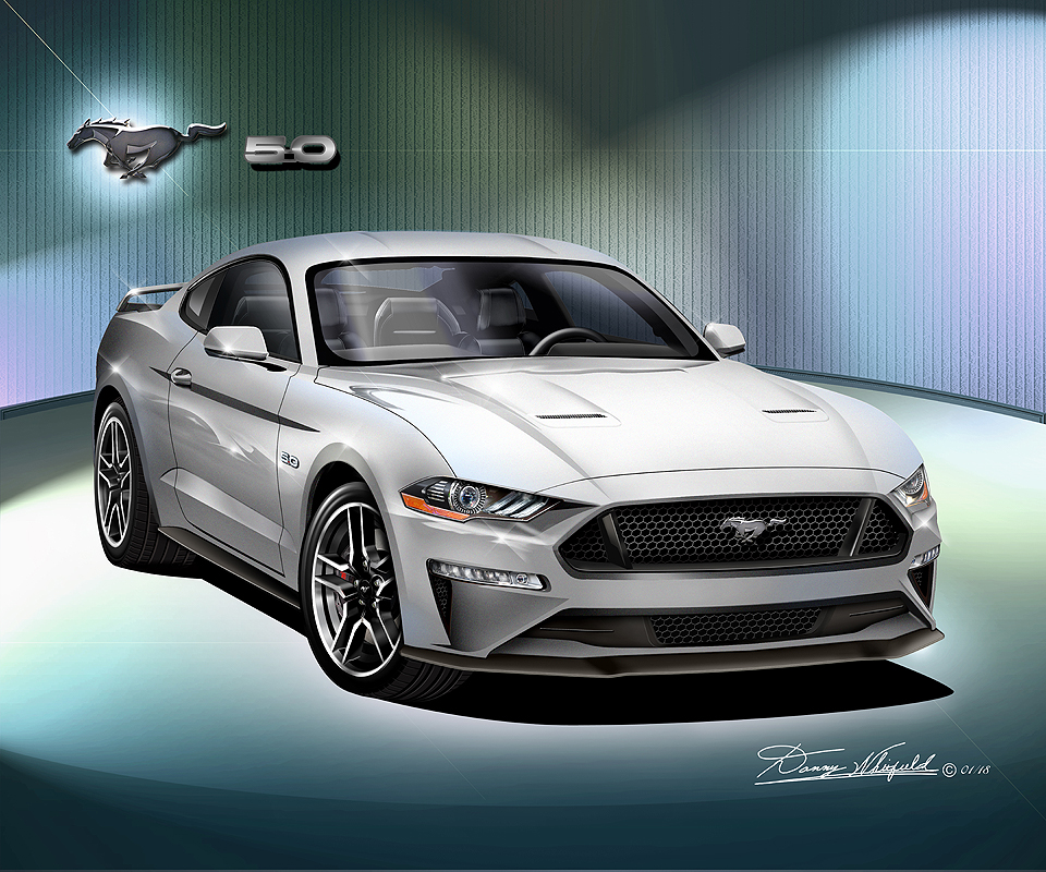 Black Mustang Silvers: 2019 Fine Art Prints & Posters By