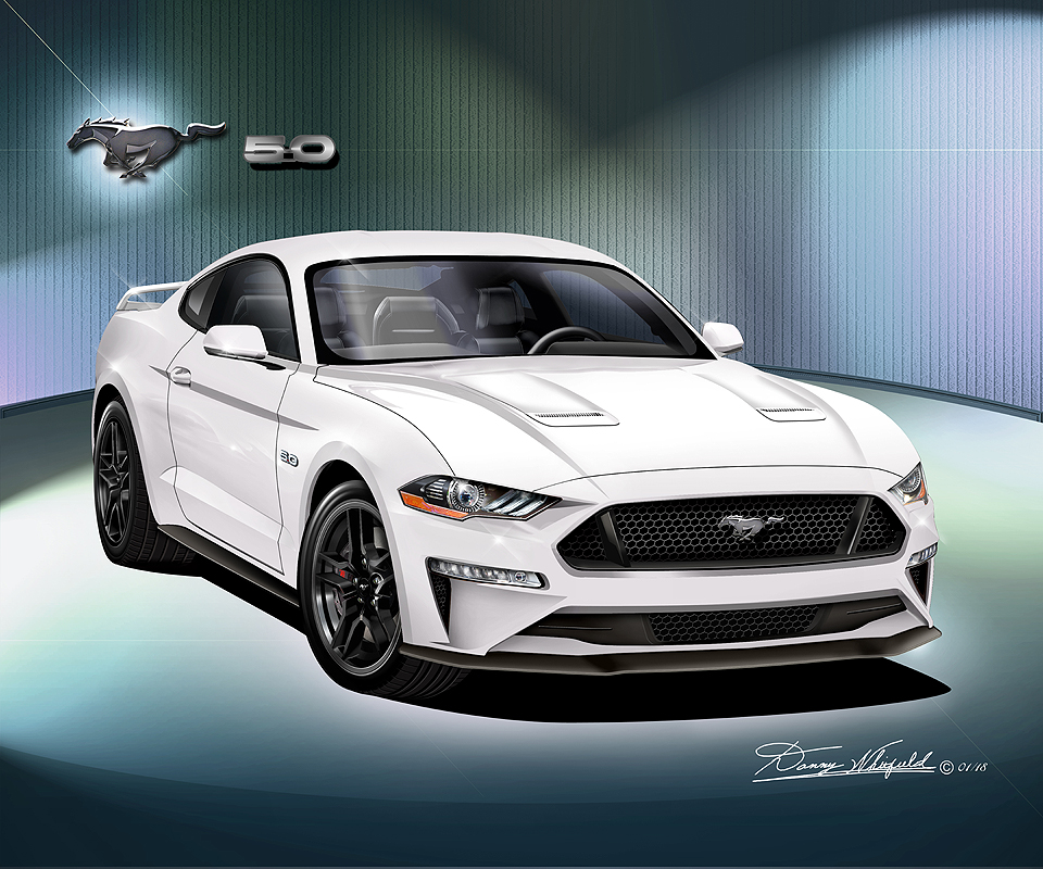 Ford Mustang 2018 2019 Fine Art Prints Amp Posters By