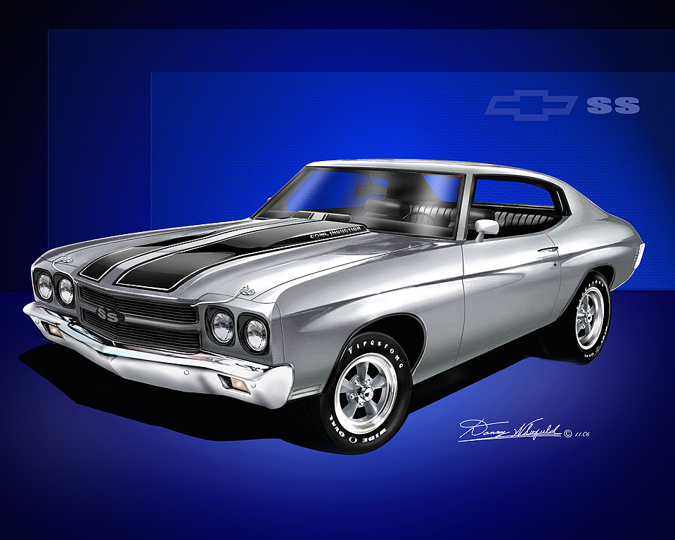 1970 Chevelle Ss Fine Art Prints Amp Posters By Danny Whitfield