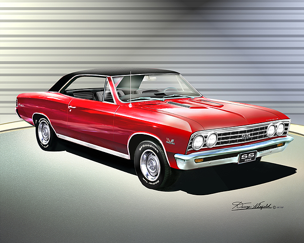 1966 1967 Chevelle Ss Fine Art Prints Amp Posters By Danny