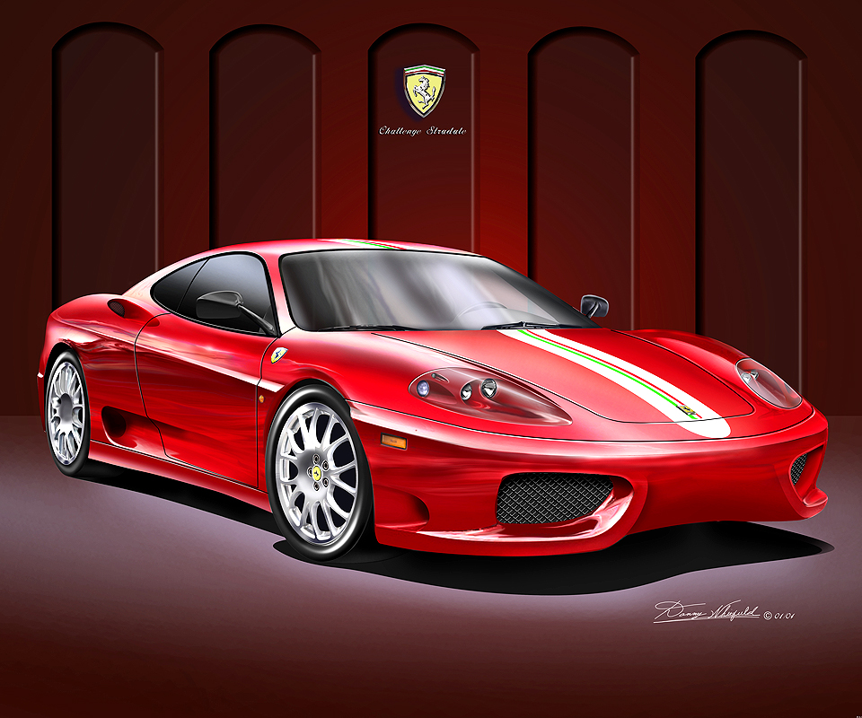 by featured art ferrari schumacher digital michael kyte david