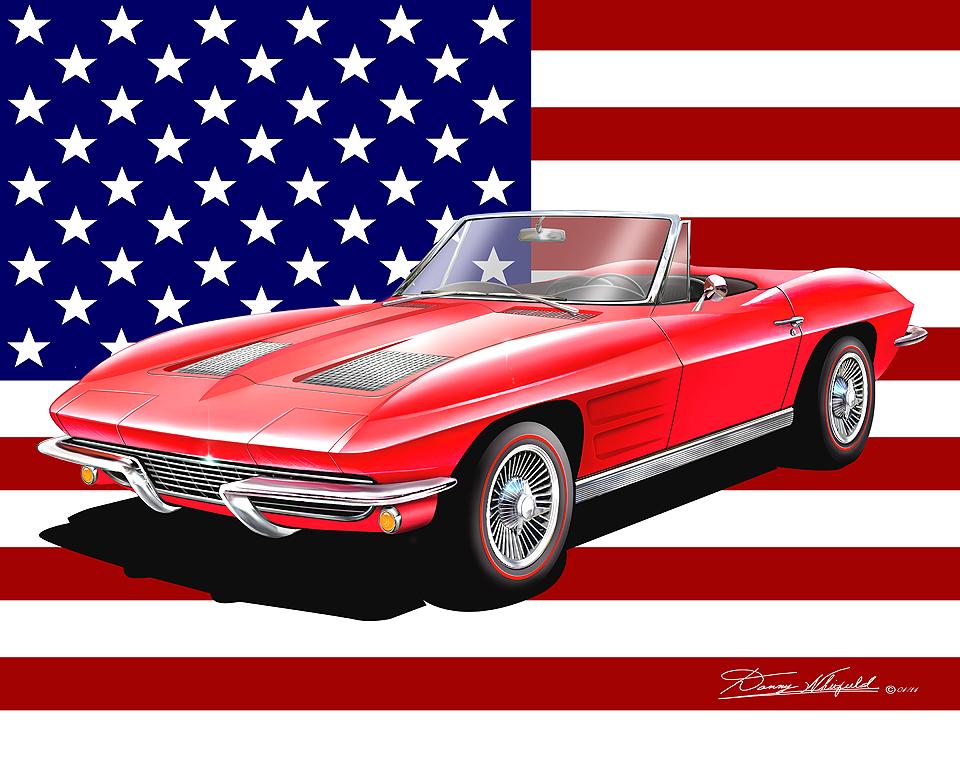 Chevrolet Corvette Fine Art Prints Amp Posters1963 1967 By