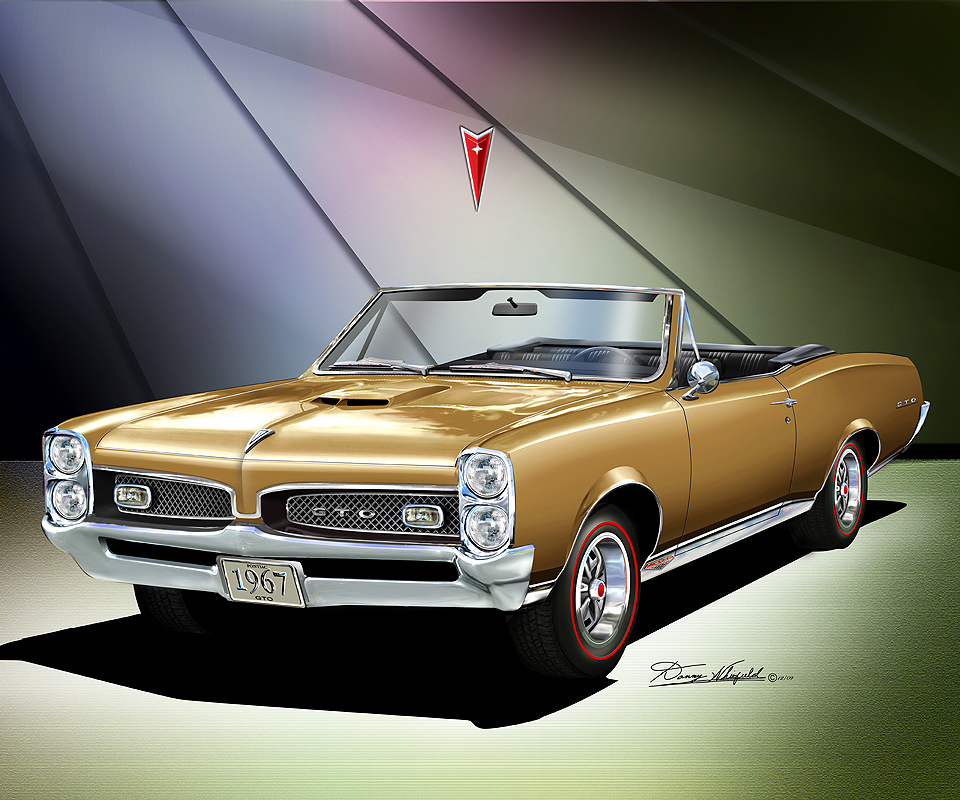 Image result for 1967 gto gold