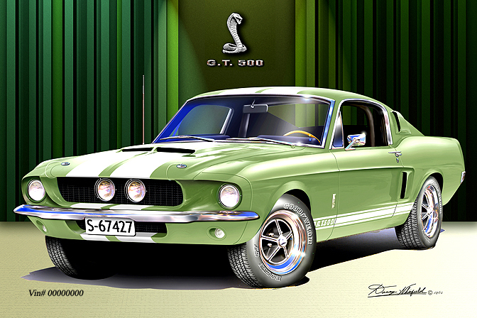 automotive art car art personalize your art print and make it look