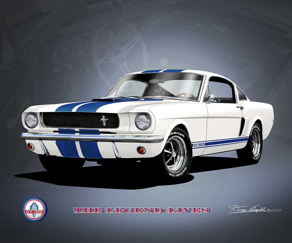 1965 1966 Mustang Fine Art Prints Amp Posters By Danny