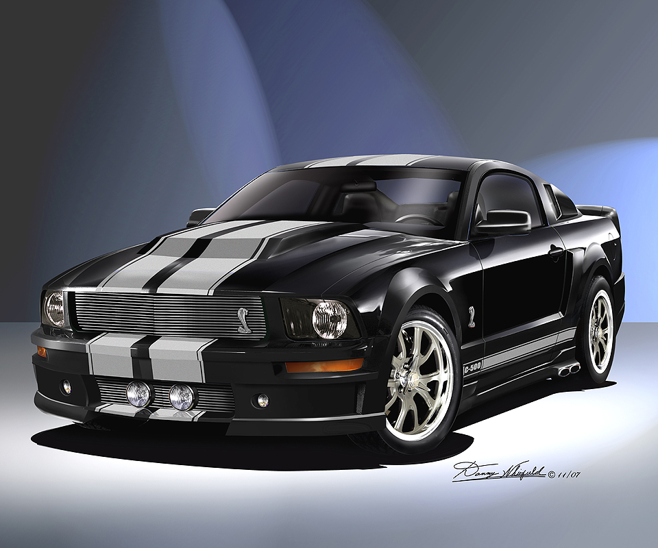 2005 2010 Ford Mustang Fine Art Prints Amp Posters By Danny Whitfield