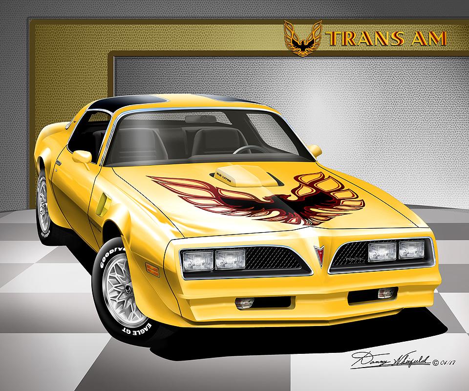 1972 - 1981 Firebird Trans Am - Fine art prints by artist ...