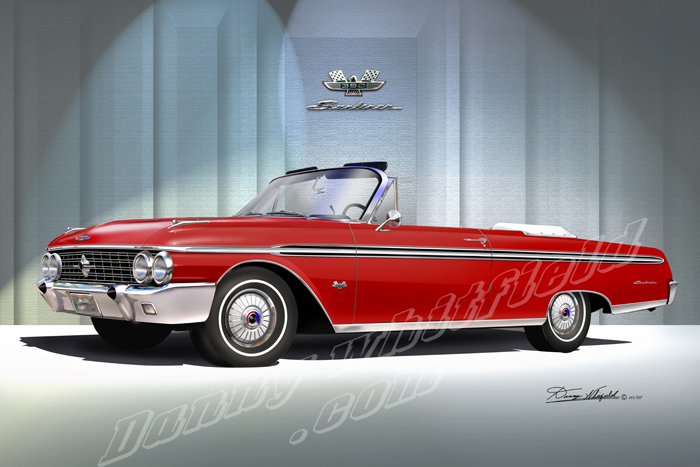 1960 - 1968 Ford fullsize Classic Cars Prints by Danny Whitfield,