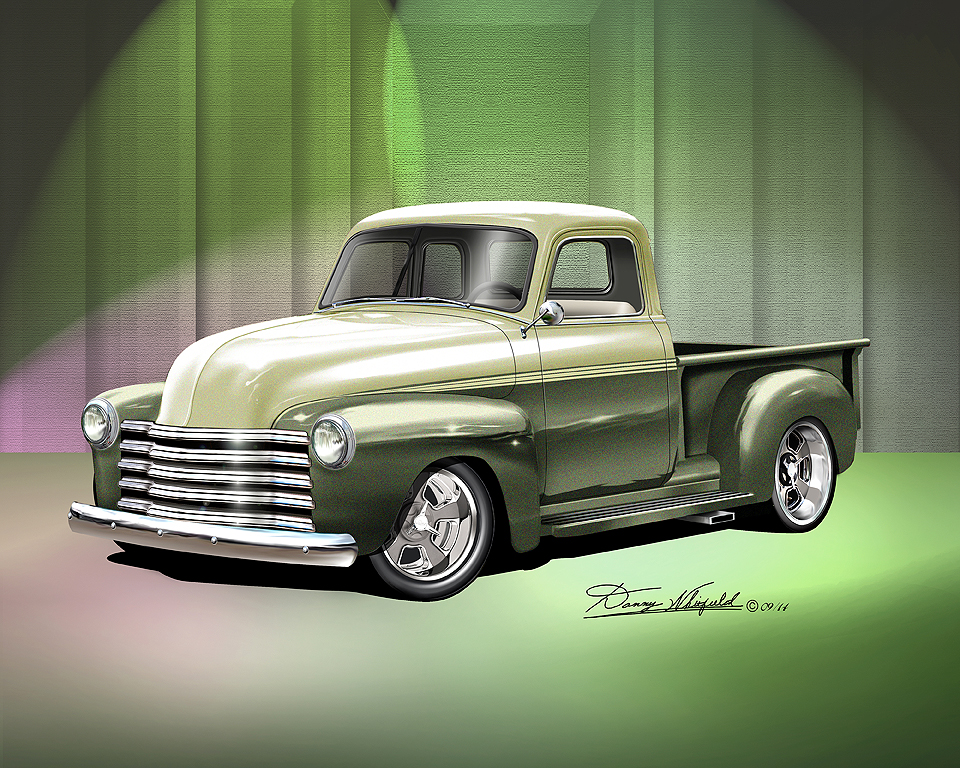 Trucks Fine art prints and poster by artist Danny Whitfield