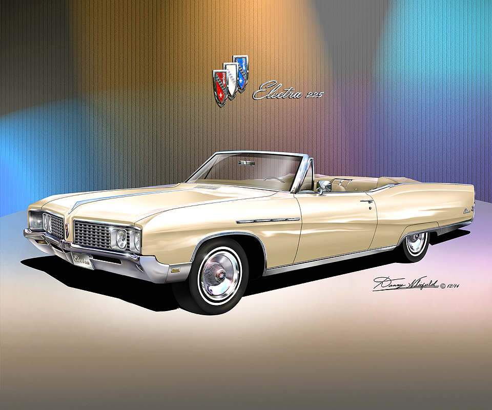 1969 Buick Electra 225 For Sale: 1968-1973 Buick Electra 225 & Centurion Fine Art Prints By