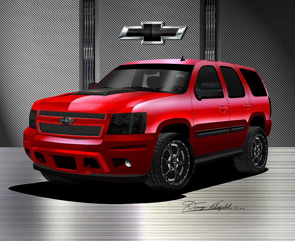 Red Chevy Trucks