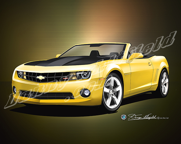 2010 Camaro Convertible Yellow