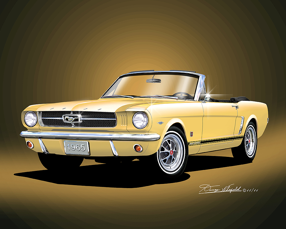 1965-1966 Mustang Fine art prints & posters by Danny Whitfield,