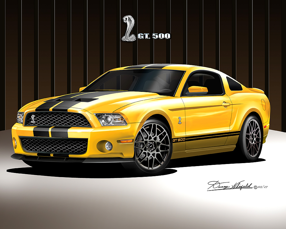 2011 2012 Ford Mustang Fine Art Prints Amp Posters By Danny
