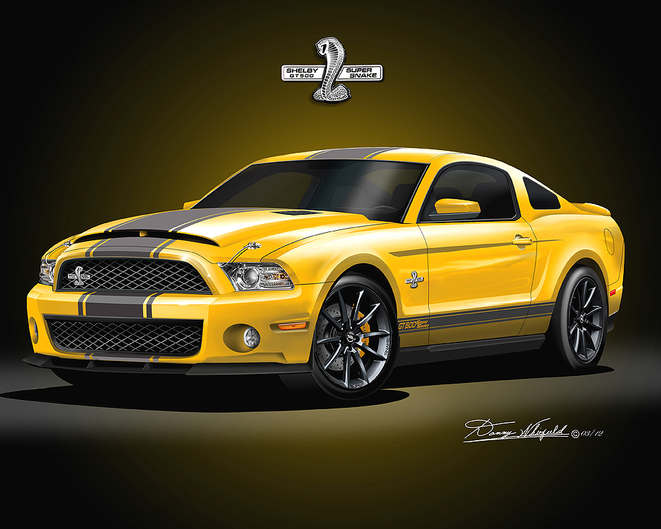 2011 2012 ford mustang fine art prints posters by danny. Black Bedroom Furniture Sets. Home Design Ideas