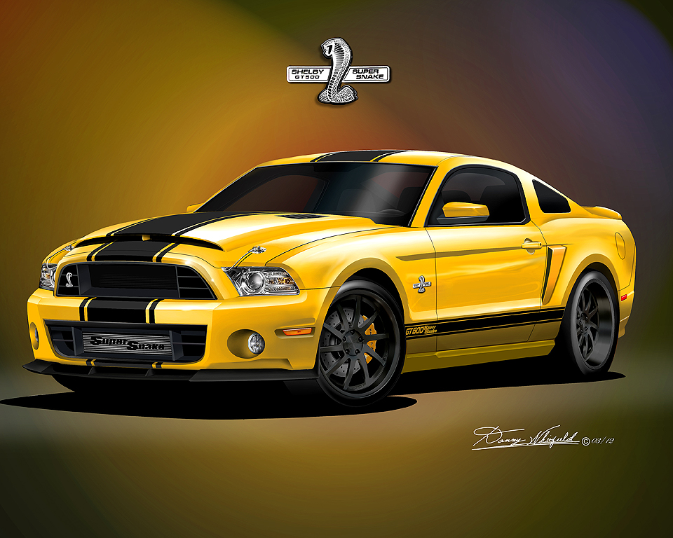2013 2014 ford mustang fine art prints posters by danny. Black Bedroom Furniture Sets. Home Design Ideas