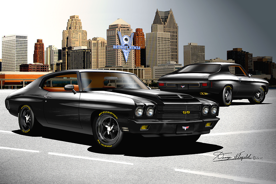 1970 chevelle ss fine art prints posters by danny whitfield item ssx tb 6 1970 custom chevelle ss whitfield edition front view sciox Choice Image